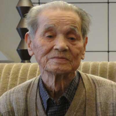 創業者である山下三郎の顔写真